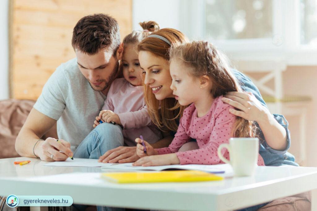 Nevelés arányai család - Gyereknevelés