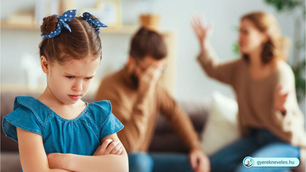 Veszekednek a szülők, rossz példa- Gyereknevelés