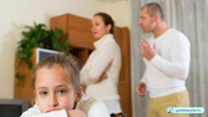 Ne a gyerek előtt veszekedjen a szülő - gyerekneveles.hu