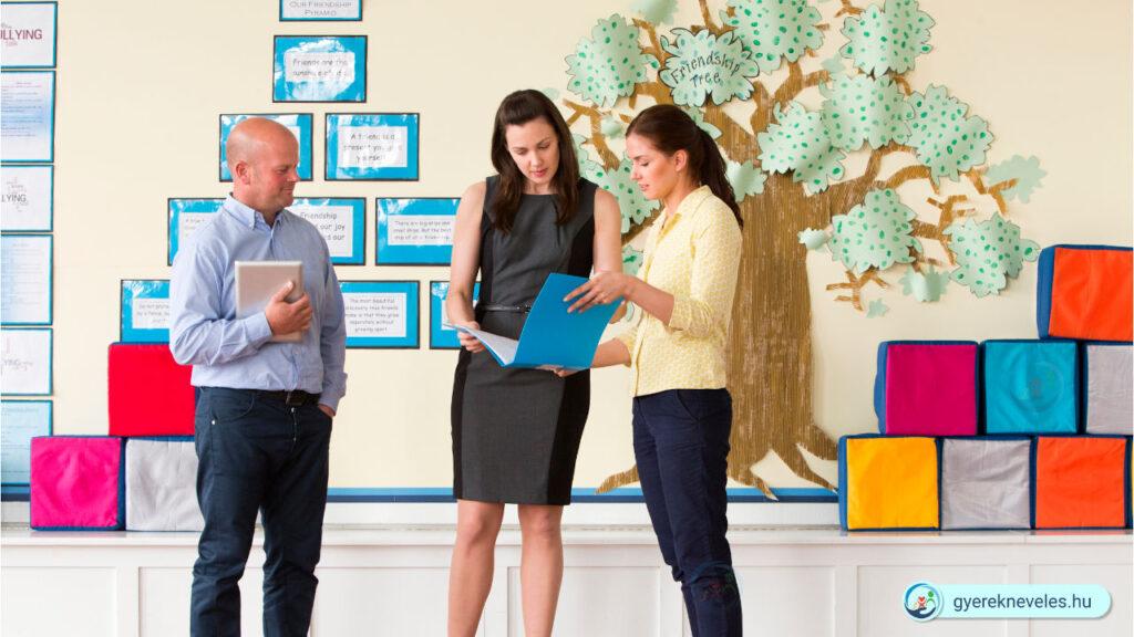 Tanár pedagógus szülő iskola