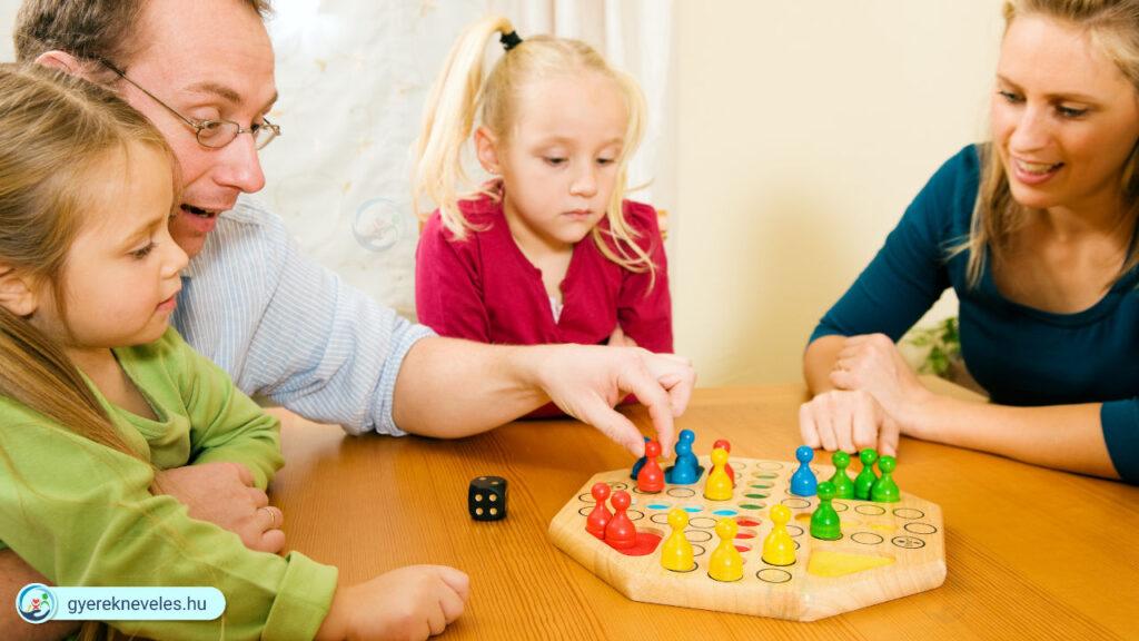Társasjáték és gyereknevelés